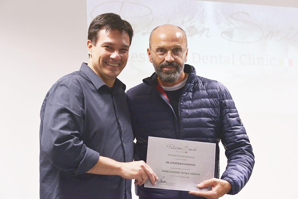 Oswaldo Scopin e dott. Giampaolo Zanotto